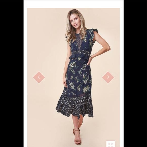 Sugarlips Dresses & Skirts - Floral midi dress